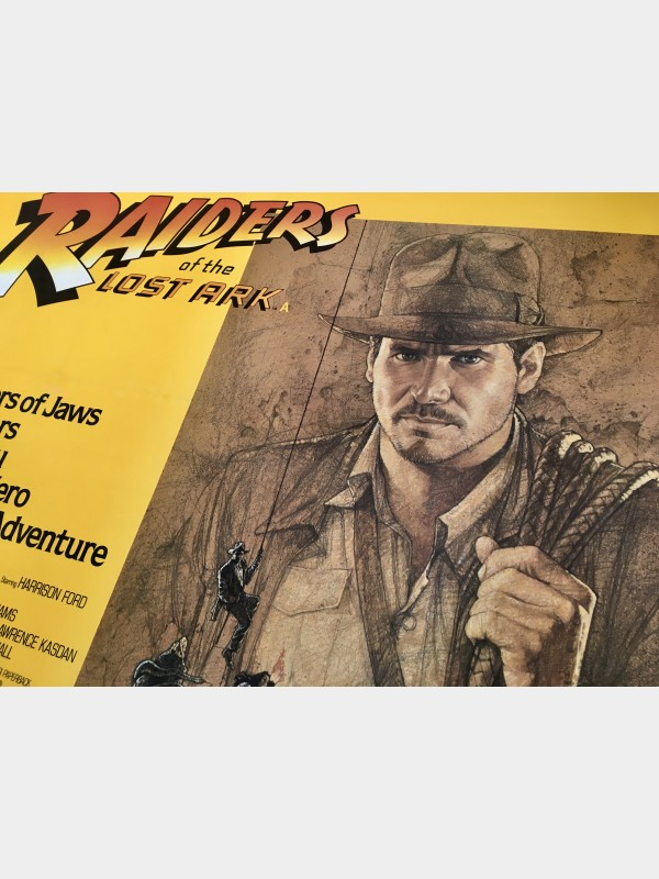 Raiders Of The Lost Ark (Linen-Backed)