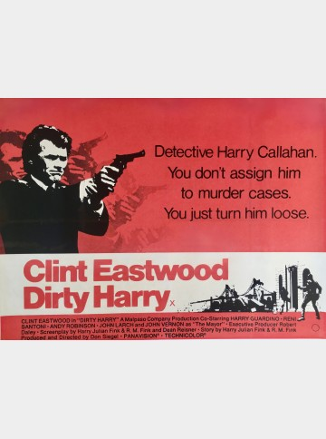 Dirty Harry (Linen-backed)