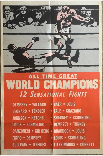 BOXING All Time Great World Champions